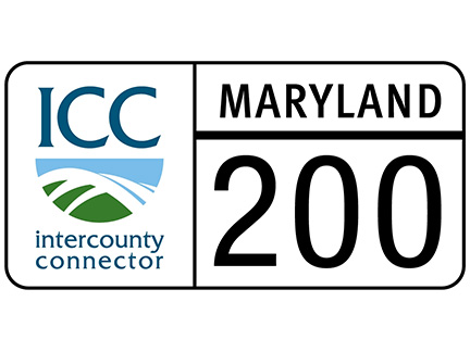 Logo of InterCounty Connector - Maryland State Highway 200