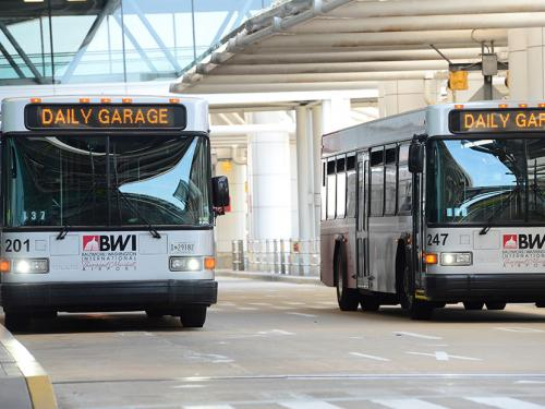 Two BWI shuttles